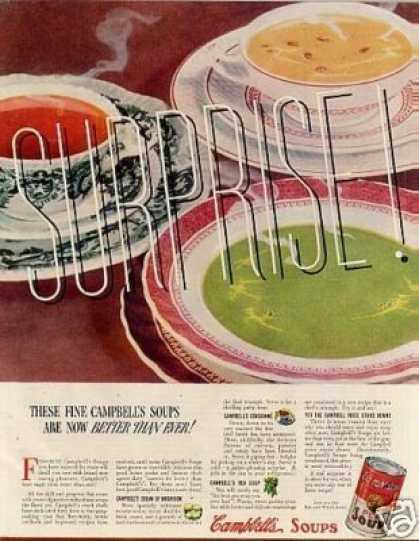 Campbell's Pea Soup (1937)