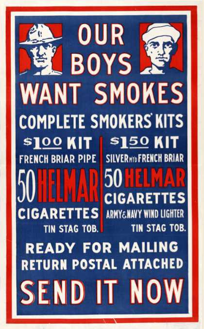 World War I – Helmar – USA, 1914-1918