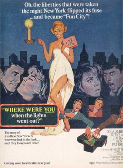 Where Were You When The Lights Went Out (Doris Day and Robert Morse) (1968)
