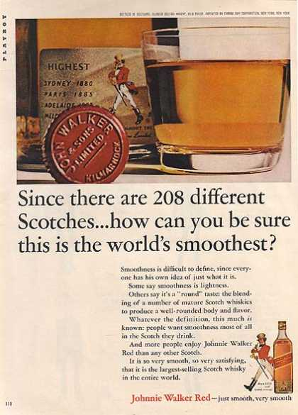 Johnnie Walker's Red Scotch (1964)