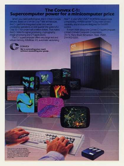 Convex C-1 Supercomputer (1986)