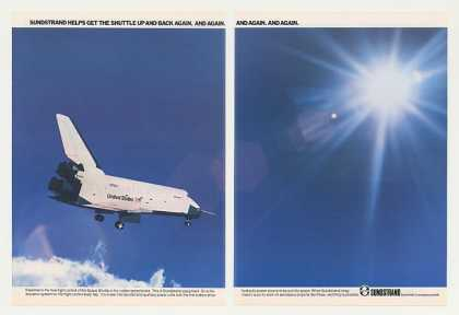 NASA Space Shuttle Photo Sundstrand 2-Page (1979)