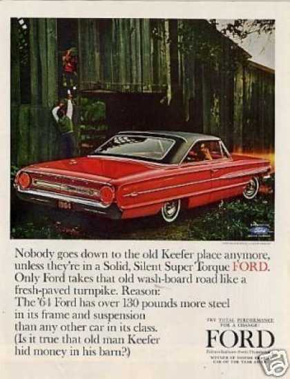 Ford Galaxie 500/xl 2-door Car (1964)