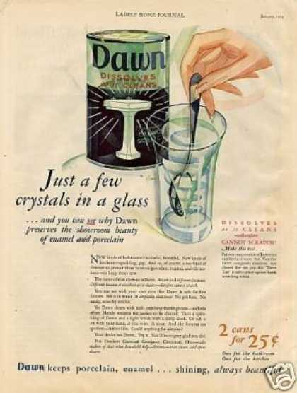 Dawn Cleanser Color (1929)