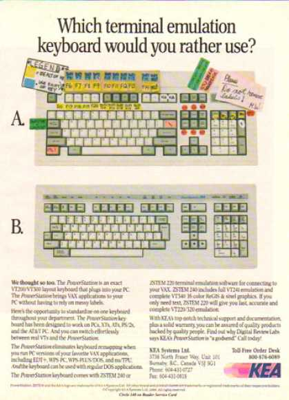 KEA Systems – PowerStation Keyboard (1990)