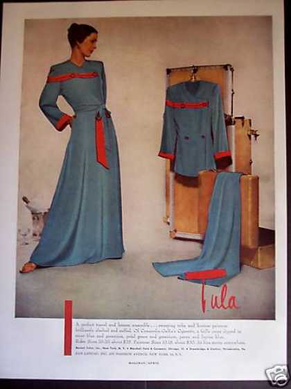 Tula Fashion Pajamas Robe (1948)