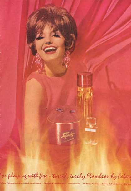 Faberge Flambeau Vintatge Bottle (1966)