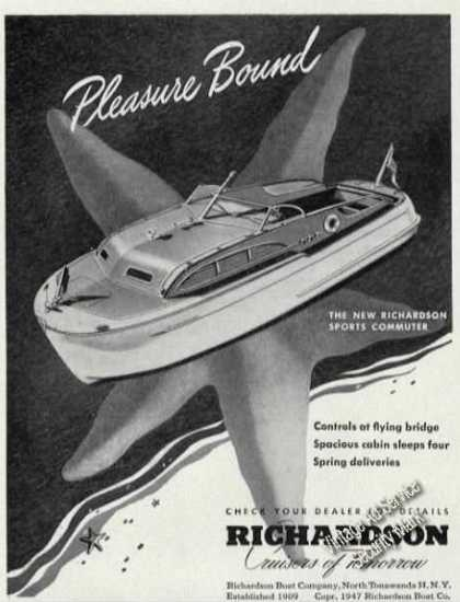 Richardson Sports Commuter Antique Boat (1947)