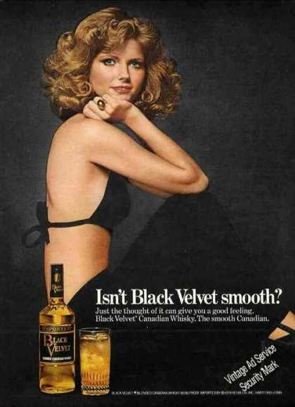 Isn't Black Velvet Smooth? Beautiful Woman (1975)