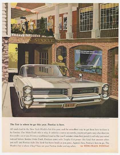 Pontiac Bonneville to New York World's Fair (1964)