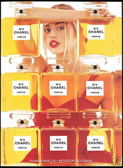 Chanel No 5 Perfume Estella Warren Photo (1998)