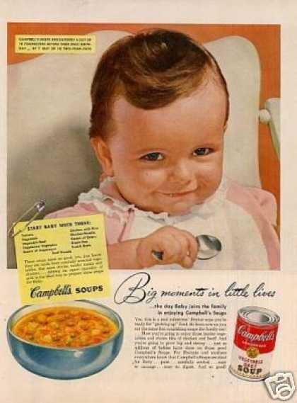 Campbell's Vegetable Soup (1952)