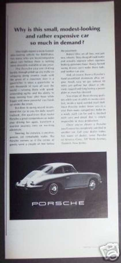Porsche In Demand Sports Car (1965)