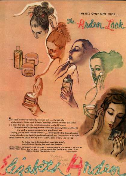 Elizabeth Arden – There's Only One Look...The Arden Look (1948)