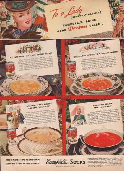 Campbells Soup Bring Christmas Cheer (1941)
