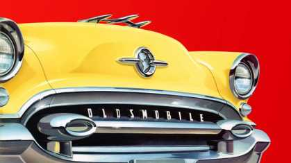 Cover, Oldsmobile brochure ― 10 images (1955)