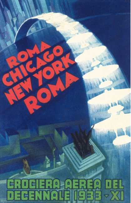 Air Show Poster (1933)