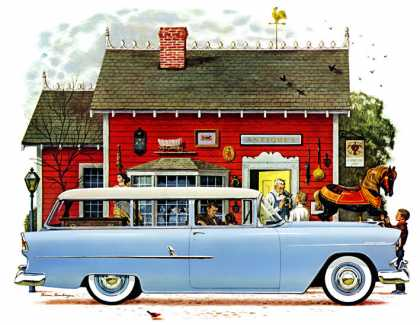 "Chevrolet ""Two-Ten"" Handyman Bruce Bomberger (1955)"