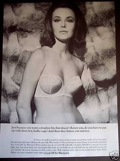 Sexy Woman In Warner's Strapless Bra Photo (1965)