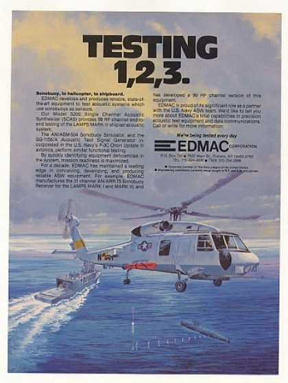 EDMAC Acoustic Test Equip Navy LAMPS MARK III (1983)