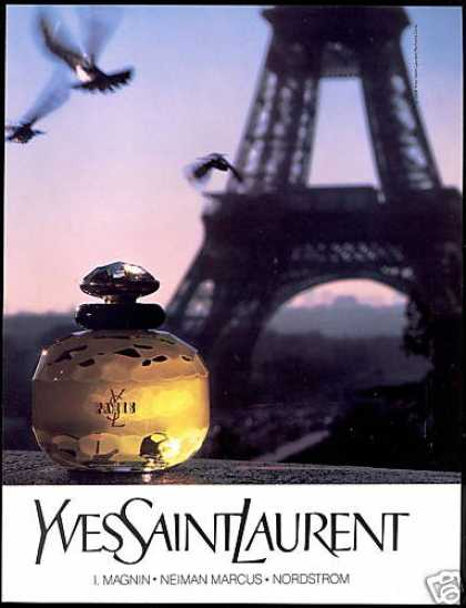 Eiffel Tower Yves Saint Laurent Perfume (1990)