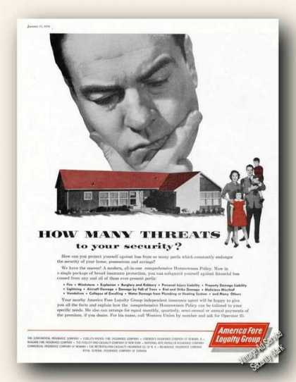 How Many Threats To Security American Fore (1959)