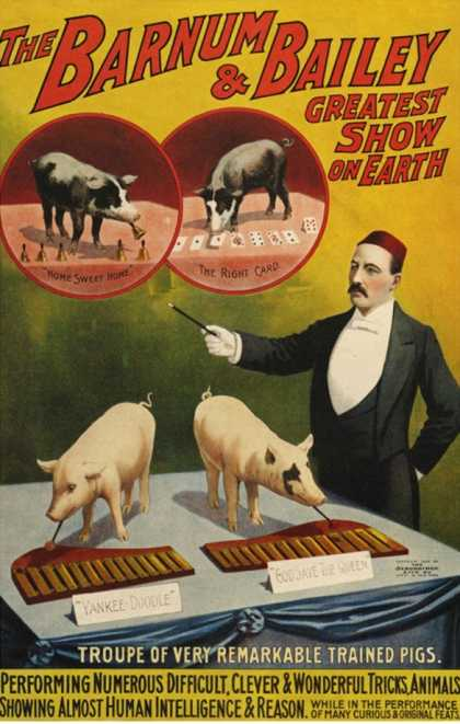 Barnum and Bailey, Poster (1900)