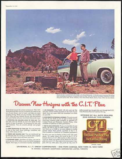 Texas Palo Duro Canyon CIT Credit Corp (1956)
