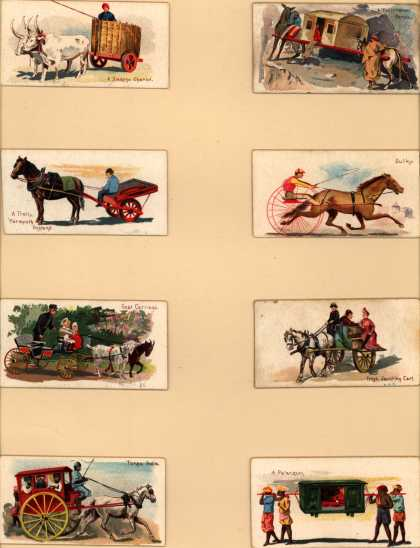 W. Duke Sons & Co.'s Duke's Cigarettes – 50 Vehicles of the World – Image 9