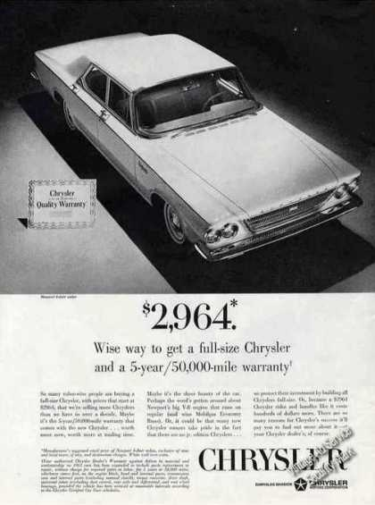 Chrysler Newport 4-door Sedan (1963)