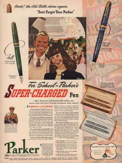 Parker Vacumatic Super Charged Pen (1941)