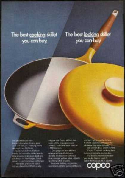 Copco Yellow Cast Iron Cookware Photo (1969)