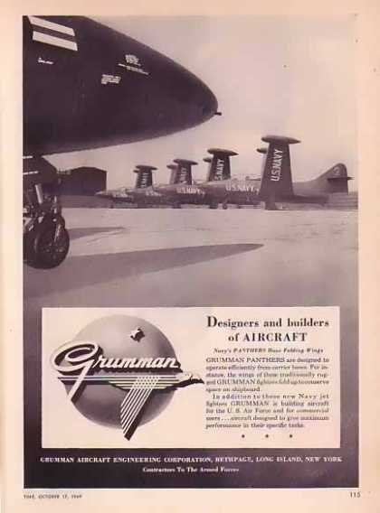 Grumman Aircraft – Panthers Folding Wings (1949)