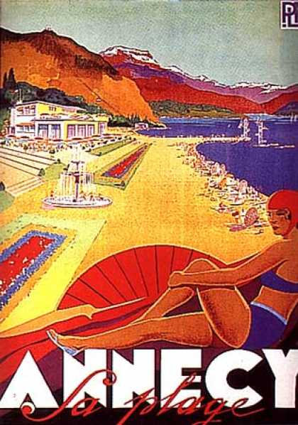 Annecy by Falcucci (1935)