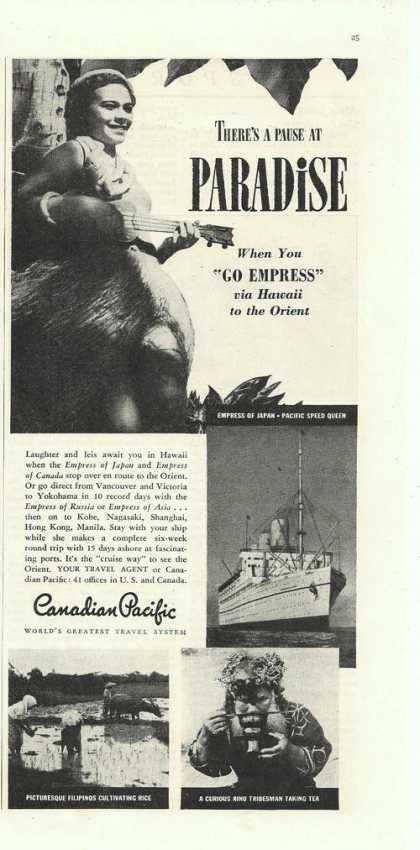 Canadian Pacific Cruise Line (1938)