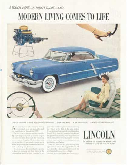 Lincoln Capri Engine Seat Wheel (1953)