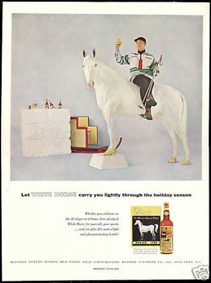 White Horse Scotch Whisky Holiday Season (1958)