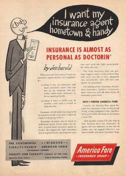 America Fore Insurance Group (1947)