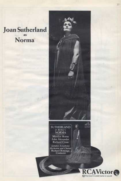 Rca Victor Joan Sutherland Norma (1965)