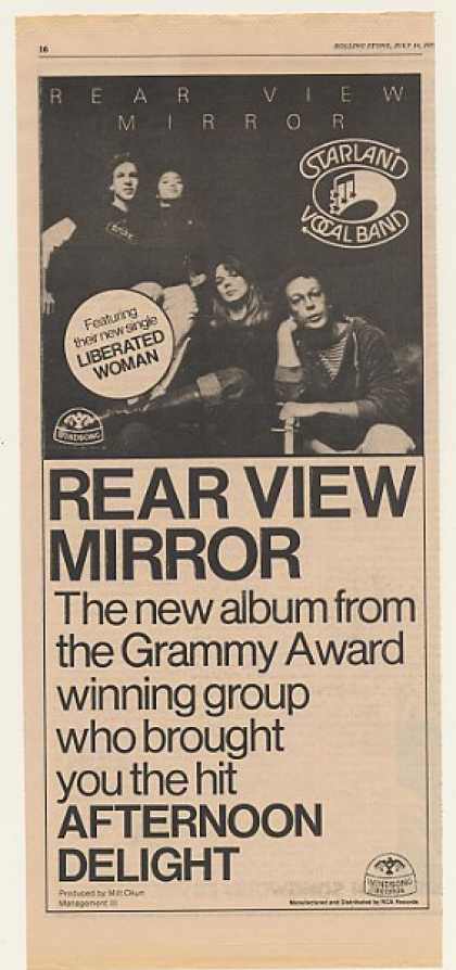 Starland Vocal Band Rear View Mirror (1977)