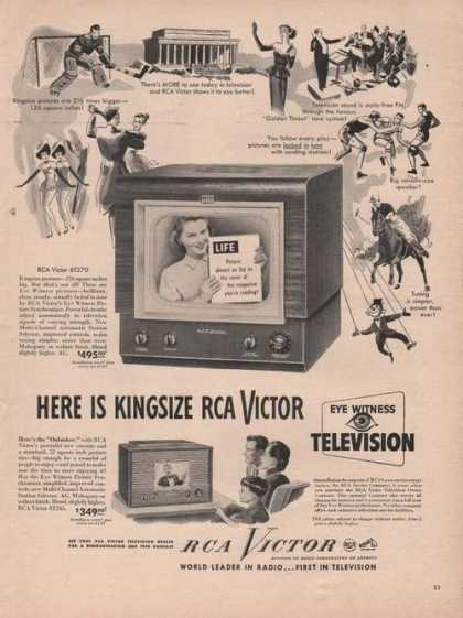Table Top Rca Victor Television (1949)