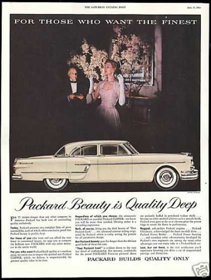 Packard Patrician 4 Door Car The Finest (1954)