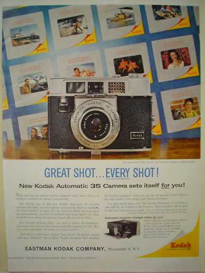 Eastman Kodak Co Automatic 35 mm camera (1960)