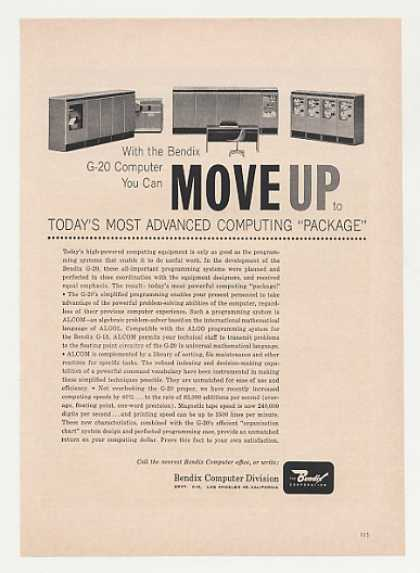 Bendix G-20 Computer System Most Advanced (1961)