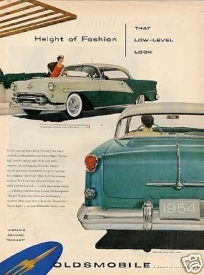 Oldsmobile Ninety-eight Deluxe Holiday Coupe (1954)