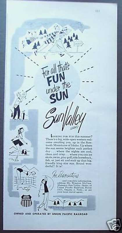 Sun Valley Idaho Resort (1953)