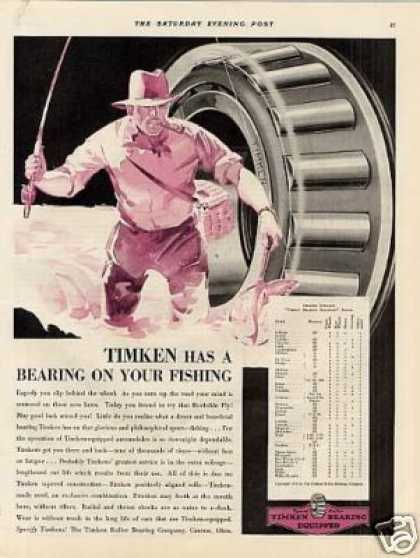 Timken Roller Bearings (1931)