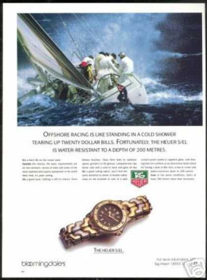 Sailboat Racing Ocean Tag Heuer Tagheuer Watch (1989)