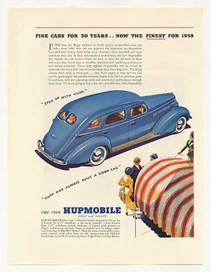 '37 1938 Hupmobile Six 4-Door Sedan Hupp Motor Car (1937)