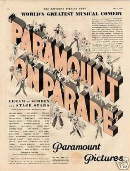 Paramount Pictures Color (1930)